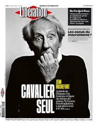 Jean Rochefort Une Libé 10 oct 2017
