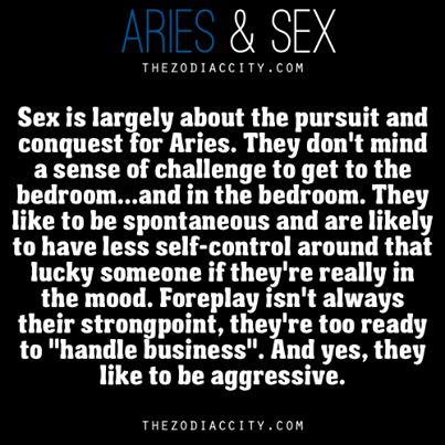 Aries Sex Horoscope 108
