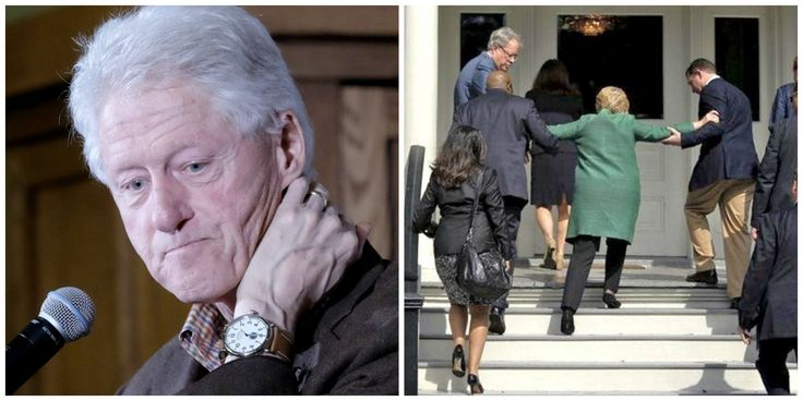 Bill Clinton Slips Up, Reveals What's REALLY Going on With Hillary's Health