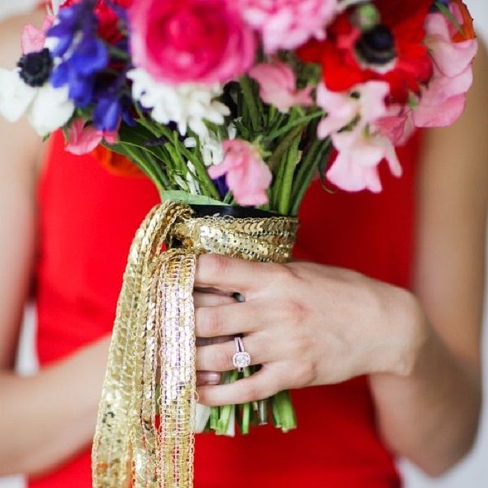 71 best Bouquet Wraps images on Pinterest | Bridal bouquets, Bridal ...