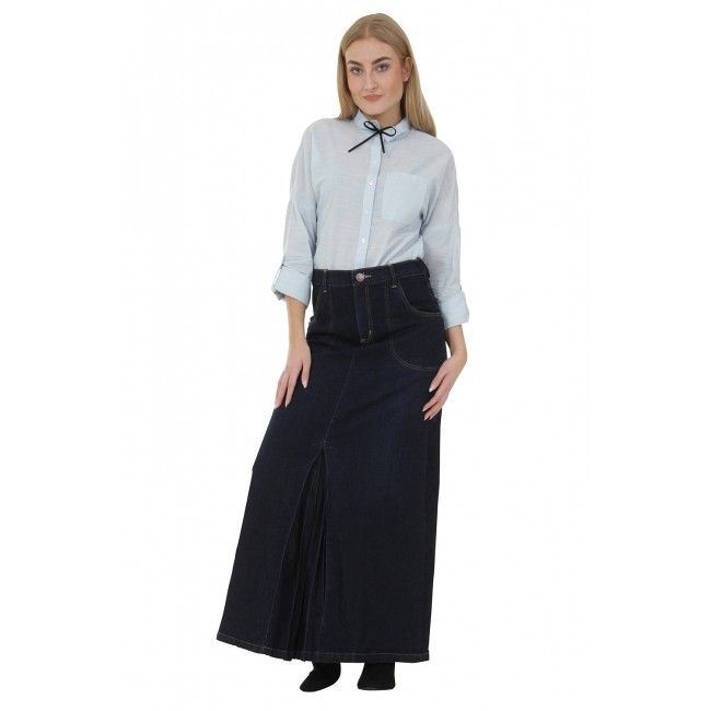 30 best Denim Skirts styled with a Belt images on Pinterest ...