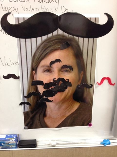 Here's a great end of the year activity: play Pin the Mustache on the teacher using CTP's Mustache Cut-Outs!