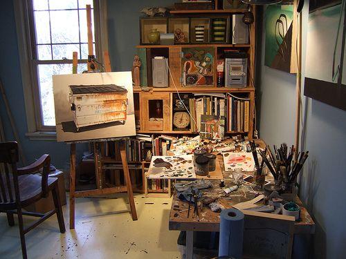 studio indretning af studio hjemmestudio inspiration feng shui. Black Bedroom Furniture Sets. Home Design Ideas