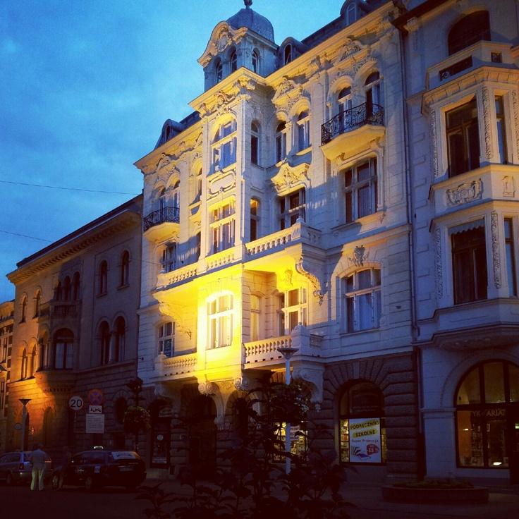 rue Piotrkowska à Lodz, #lodz
