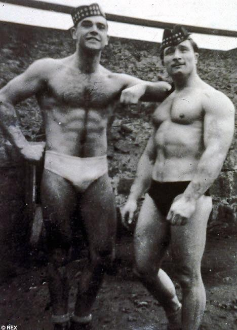Sean Connery, placed 3 rd in Mr. Universe contest...who knew ? who cares really.