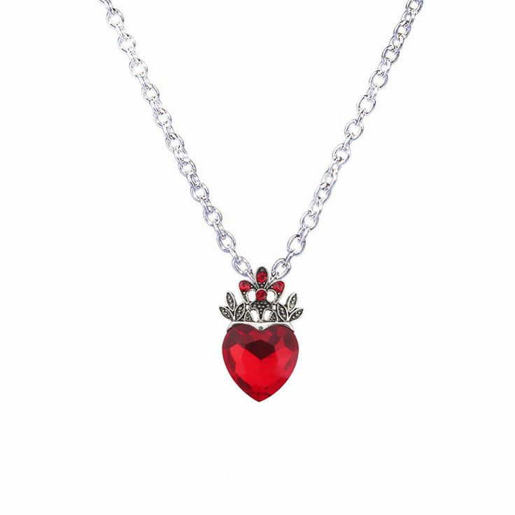 Necklace with Heart-Shaped Pendant //Price: $10.95 & FREE Shipping //     #gift #present
