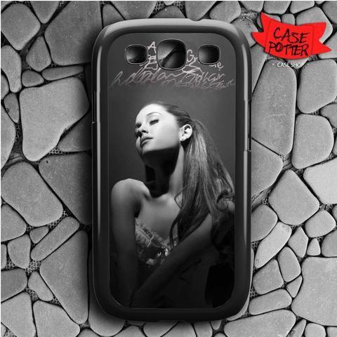 Ariana Grande Style Samsung Galaxy S3 Black Case