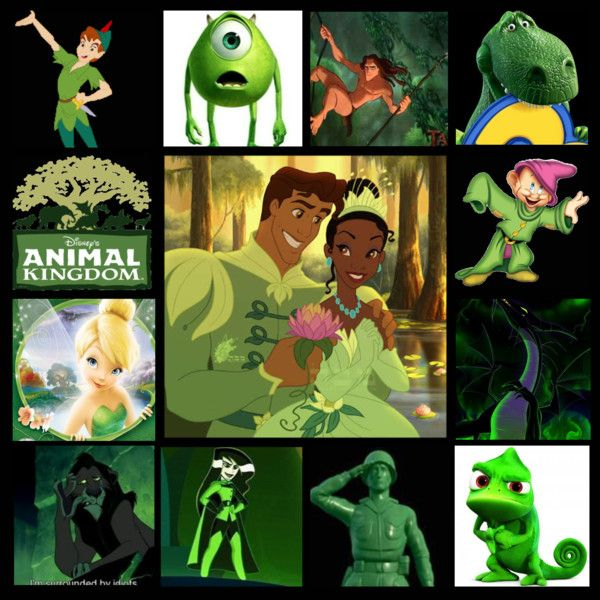 Green Disney Characters 1000+ images about Reo...