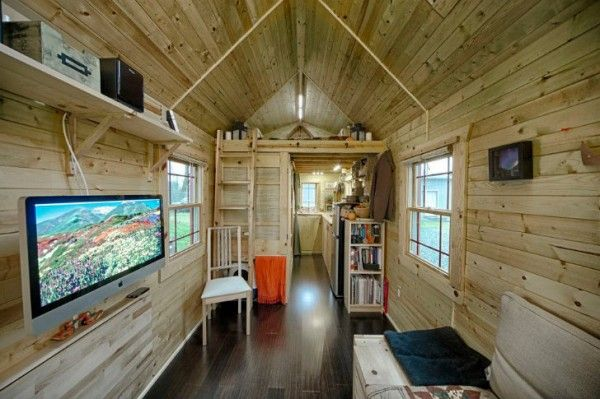 Chris and Malissas Tiny Tack House Interior: Hands Built, Tiny House, Thanks House, Small Places, House Interiors, Wooden House, Small House, Tiny Thanks, Tiny Home