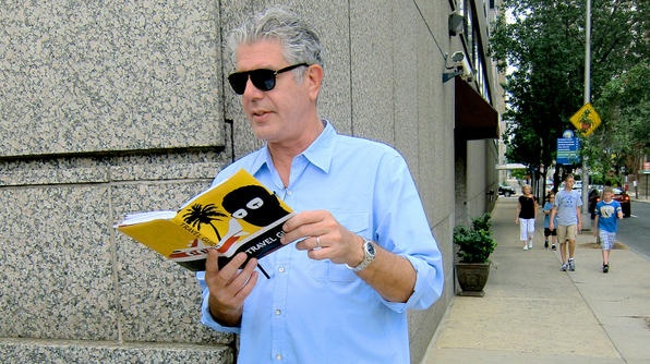 "Anthony Bourdain's picks for luxe Philadelphia hotels in ""The Layover"" Philly (via HotelChatter.com)"