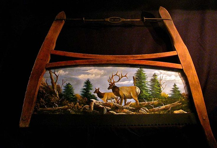 Painted Saws & Saw Blades   ... Country » Shop Online » Saw Blades » Buck Saws » Elk Buck Saw