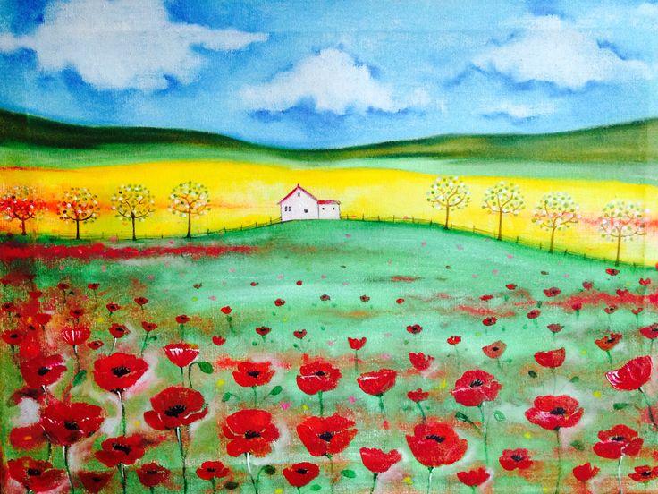 House on poppy hill Rachael Dunn