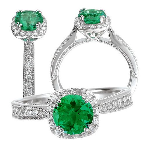 Pinterest Woman Emerald: Pictures Of Emerald Wedding Rings Emerald Wedding Rings