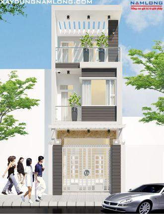 Mẫu thiết kế nhà đẹp NL51(Anh Lập - Thủ Đức)