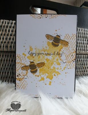 Magical Scrapworld: Enjoy your special day, cards, dragonfly dreams, ghoulish grunge, gorgeous grunge, Stampin' Up!, timeless textures, occasions 2017, spring catalogue