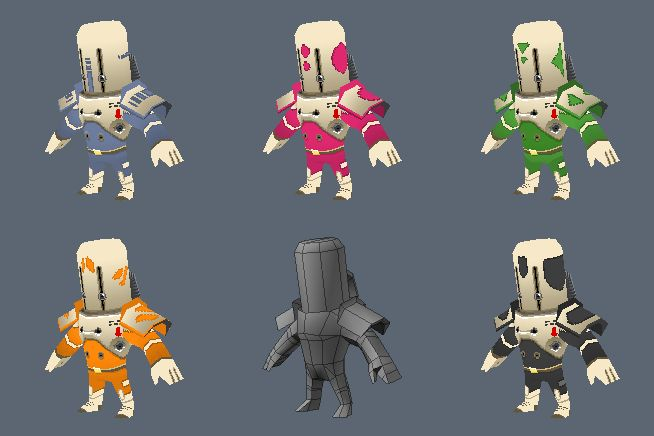LOWPOLY (sub 1000~ triangle models) - Page 26 - Polycount Forum