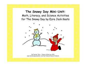 The snowy day by ezra jack keats writing activities