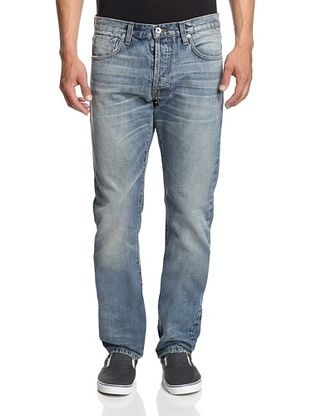 57% OFF Baldwin Denim Men's Henley Slim Fit Jean (California)