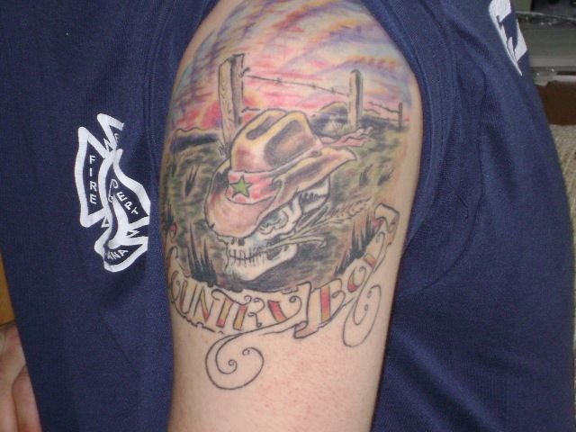 Country Boy tattoo - My Firefighter Nation
