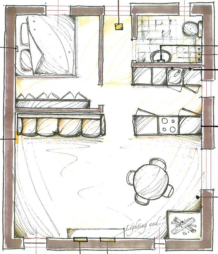 Fast hand sketch to present our ideas at the moment for the interior design. #sketch #schizzo #luce #light #dessiner #design #disegno #colors #colori #conception #lumière #handsketch #milano #italia #italy #color #colori #casa #interior#lightingand #fast #veloce