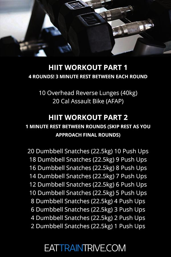 Snatches And Back On The Dreaded Assault Bike Hiit Workout