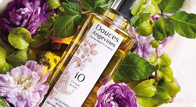 IO Ce Que Je Suis, le nouveau parfum pur et naturel Douces Angevines