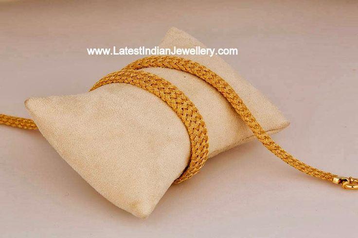 challani mens gold chain