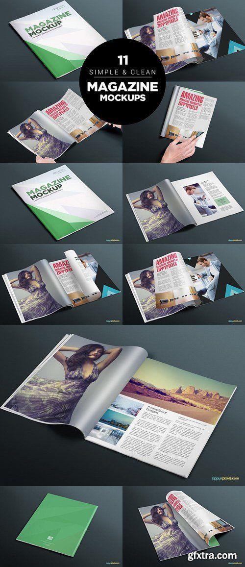 CM - 17 Softcover Magazine Mockups Vol. 4 561305