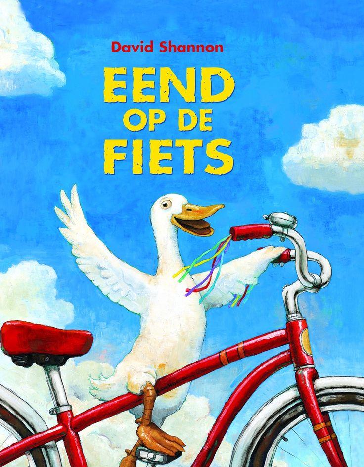 Om dit verhaal moest mijn zoontje erg lachen. Eerst keek hij wat bedenkelijk want een eend op een fiets, hoe kan dat nou? Maar dat veranderde al snel want het …