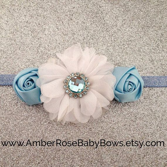 Cinderella Inspired Headband- Disney Princess, Costume, Halloween, Disney, Princess, Baby Headband, Toddler, Girl, Photo Prop on Etsy, $12.50