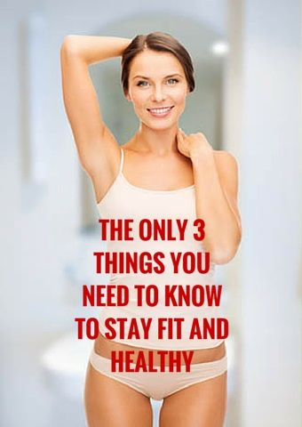 THE ONLY 3 THINGS YOU NEED TO KNOW TO