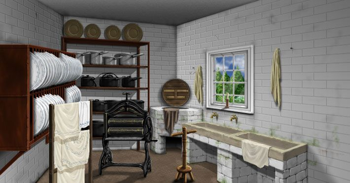 Victorian Scullery Room Scullery Geffrye Uk