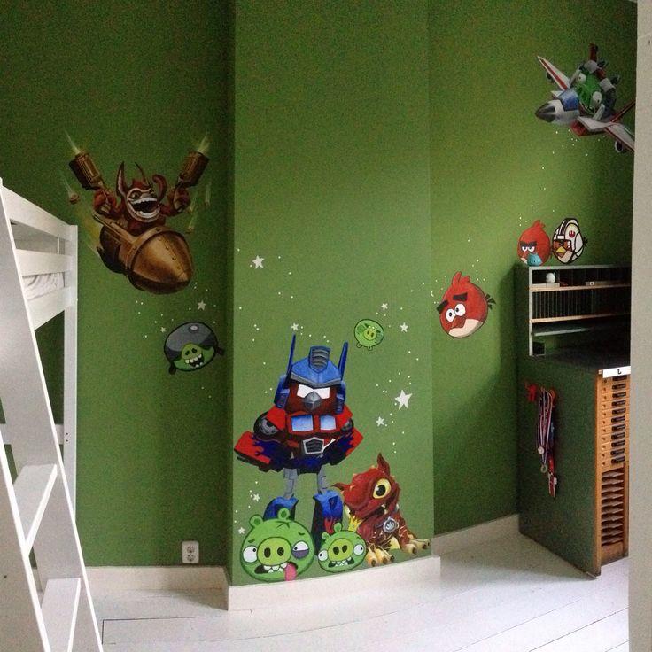 #wallpainting #artwork #acryl #skylanders #art #wallpainting #artwork #acryl #angrybirds #angrybirdsrobots