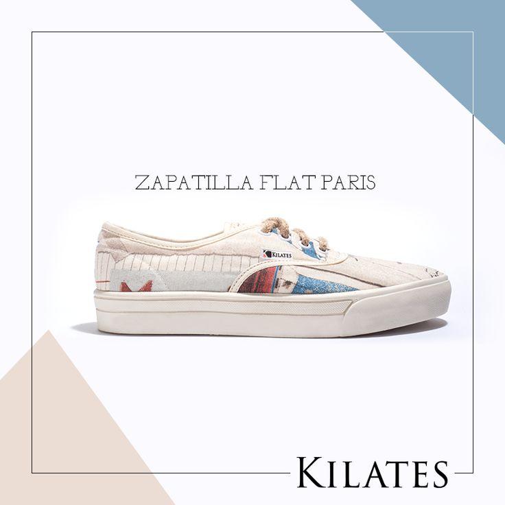 Zapatilla Flat Paris