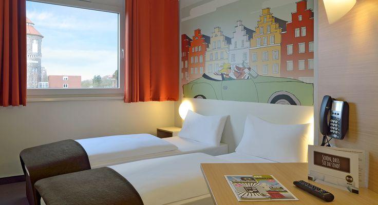 Zweibettzimmer im B&B Hotel Osnabrück