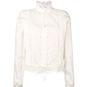 See By Chloé lace Victorian neck blouse