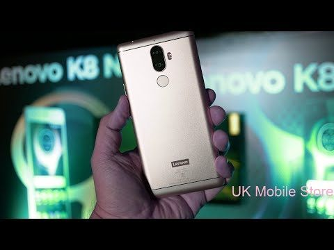 Lenovo K8 Note Unboxing And Hands on, Camera, Features! | Amazon