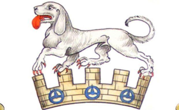 Талбот Эта белоснежная охотничья собака была настолько известна в Средние века, что ее изображение можно найти на многих фамильных гербах. Некоторые историки считают, что Вильгельм Завоеватель привез эту породу в Англию в 1066 году. албот вымерли примерно в 16-м веке, но оставили после себя большое количество потомков в виде пра-пра – пра-пра -. … внуков – собак породы бигль.