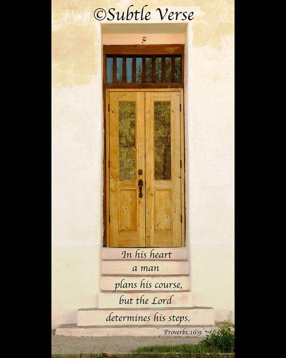 Deluxe Magnet 3.75 X 7.5   Steps   Inspirational, Christian, Door,  Architecture,