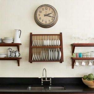 love the plate rack & 130 best Open Shelves and Plate Racks images on Pinterest   Plate ...