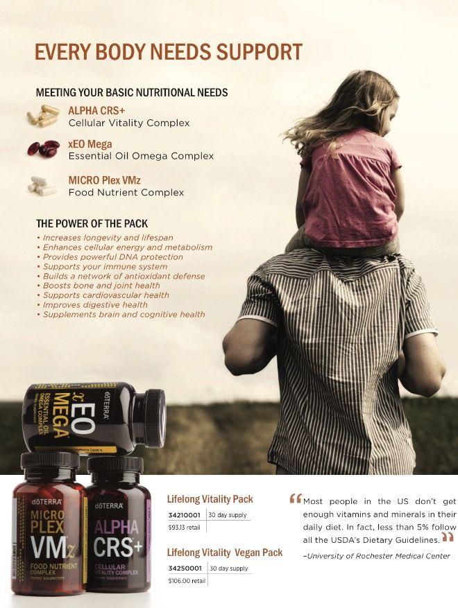 doTeRRA Essential Oil supplements