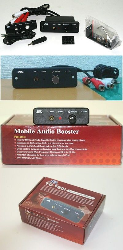Accessory Bundles: Tcc Tc-780I Mobile Stereo Line Level Amp / Booster (No Ac) BUY IT NOW ONLY: $36.5