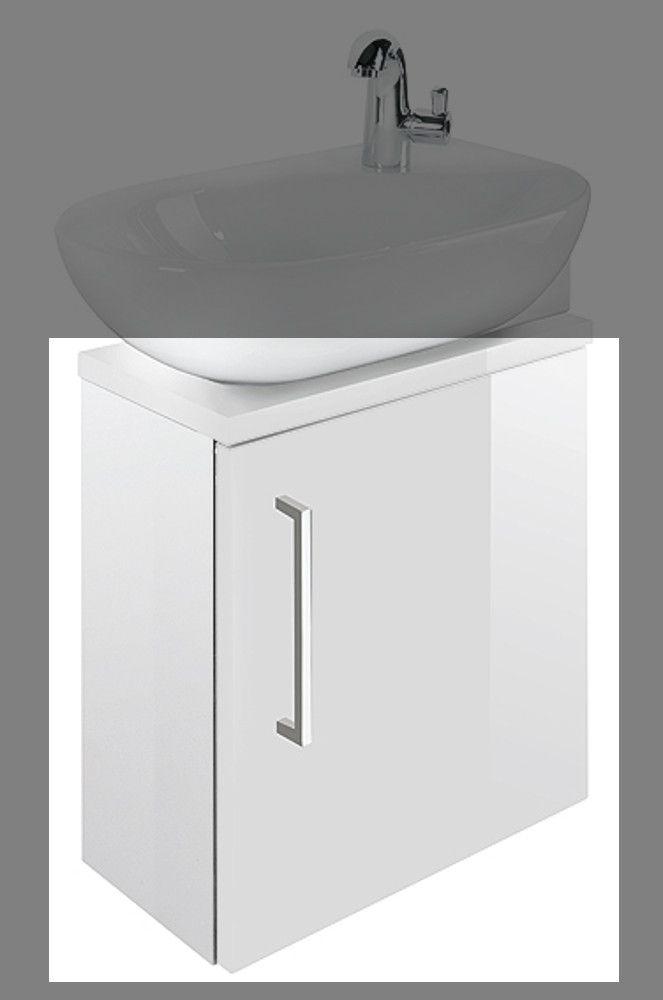 Die besten 25+ Waschbeckenunterschrank weiß hochglanz Ideen auf - badezimmermöbel weiß hochglanz
