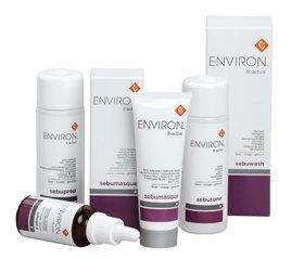The Environ B-Active range is a 5 step skin care program formulated for consumers who have problem skins. We recommend that the B-Active range be used in conjunction with the vitamin A moisturizers in the AVST range. Most of the products in this range contain a combination of Australian Tea Tree Oil, colostrum and salicylic acid. Warning: Consumers allergic to salicylic acid (aspirin), a Beta Hydroxy Acid may only use Sebugel A and Sebuspot in this range.
