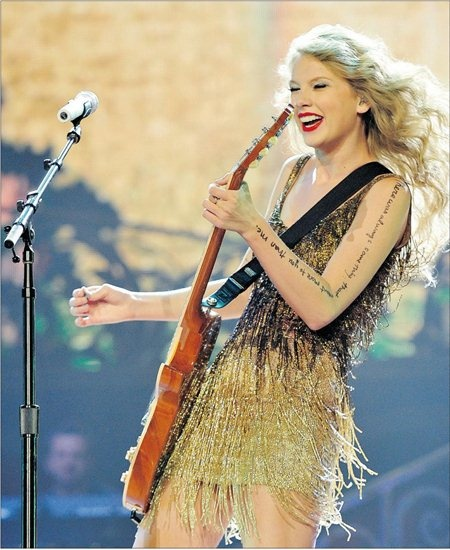 Taylor Swift Concert Plays Vancouver.