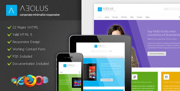 Aeolus is a template specially designed based on the Metro design style, high contrast and flat colors are some of its great features. Aeolus is very suitable for portfolio, business, corporate and any kind of websites