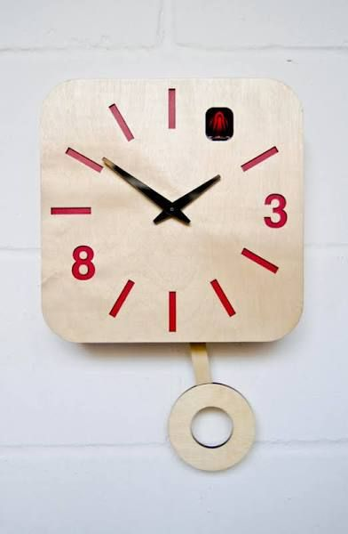 contemporary cuckoo clocks