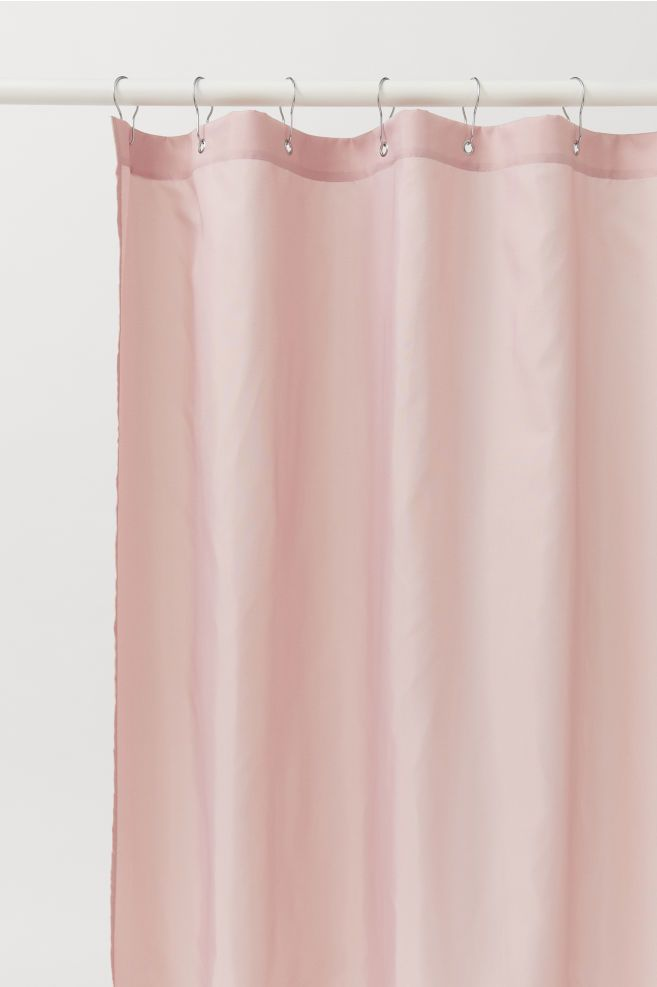 Shower Curtain Pink Shower Curtains Shower Curtain White