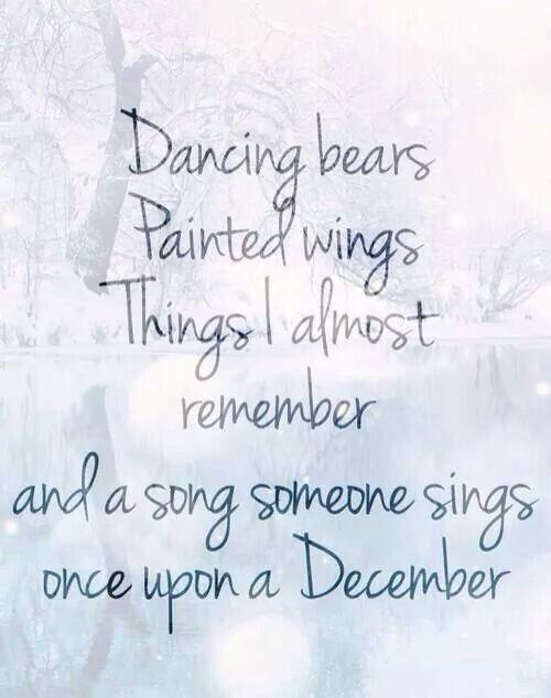 Once Upon a December, from Anastasia
