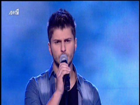 The Voice Of Greece 2 - Τασος Βερμης [Εξαιτιας σου]..29/3/2015 - YouTube